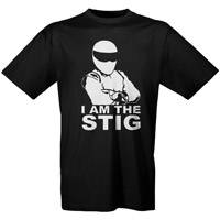 Чёрная футболка «I am the Stig»